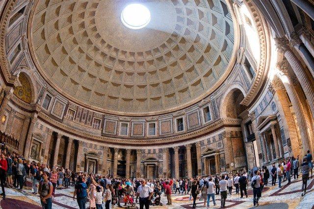 El Panteón de Agripa: el gran óculo de la Antigua Roma
