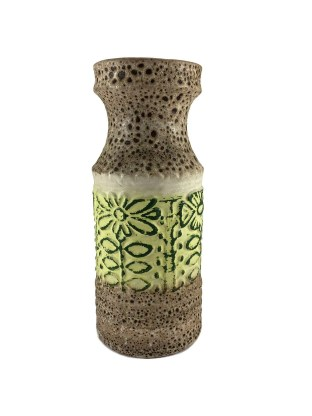 Fantastic mid-century floral vase
