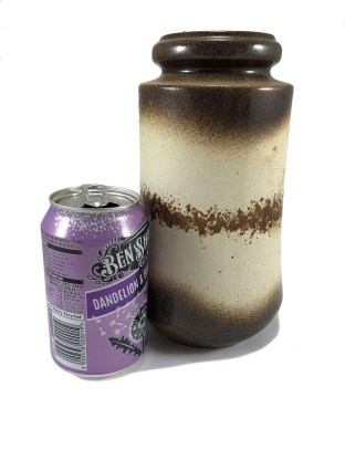 Speckled band vase by Scheurich Keramik