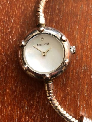 Charmed by Accurist watch