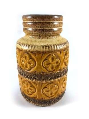 Geometric flower vase from Scheurich Keramic