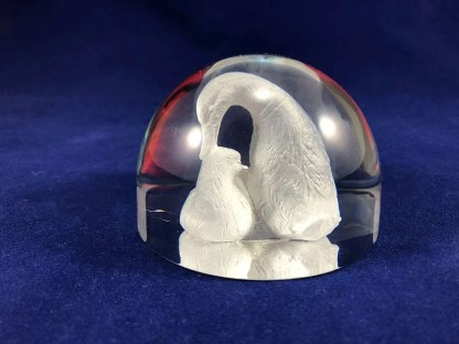 duck paperweight