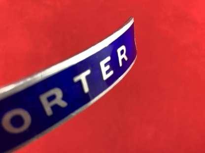 vintage British Rail porter's cap badge