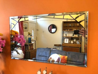 Sissling and sons vintage mirror