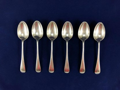 vintage Walker and Hall silver plated spoons