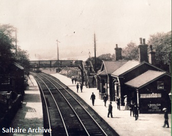 Saltaire Station pre-1965