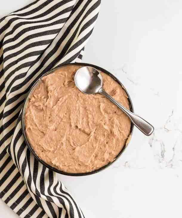 Slow Cooker Refried Beans | www.saltandbaker.com