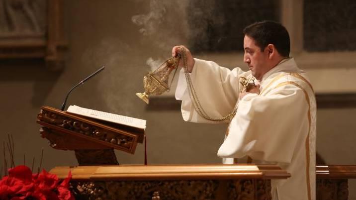 Image result for bishop incensing ambo