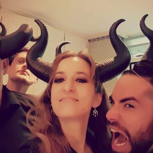 Mind the horns!