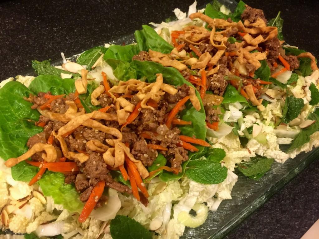 Chinese Taco Salad