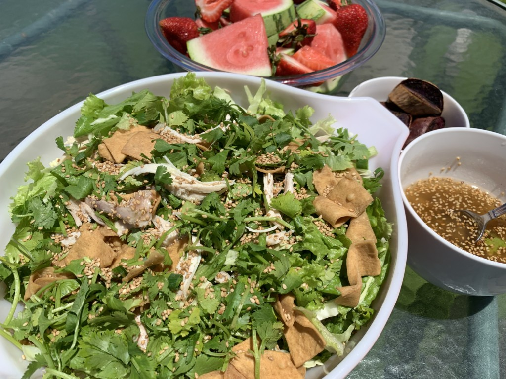 Local Style Chinese Chicken Salad
