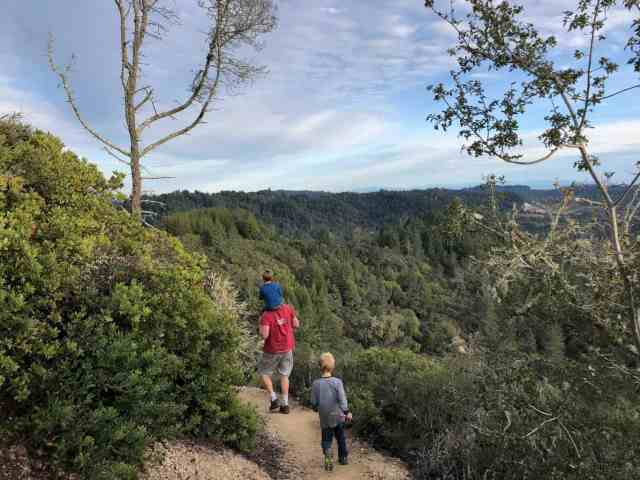 Quail Hollow Ranch hike on woodrat trail