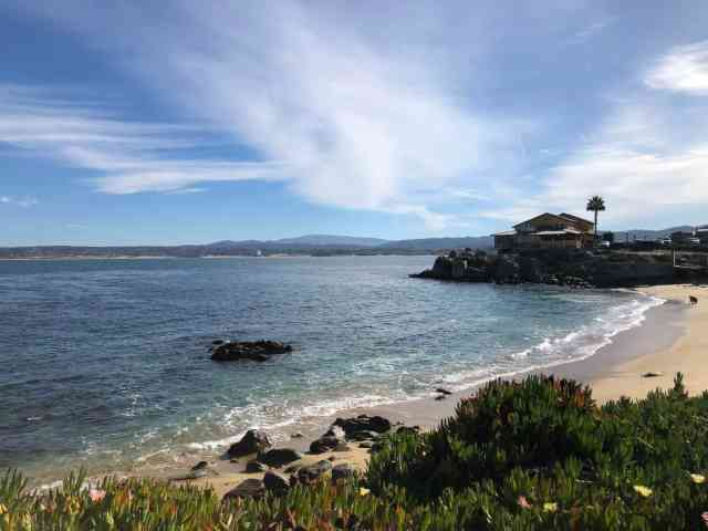 McAbee beach in is a nice spot to stop at when you're spending the day in Monterey