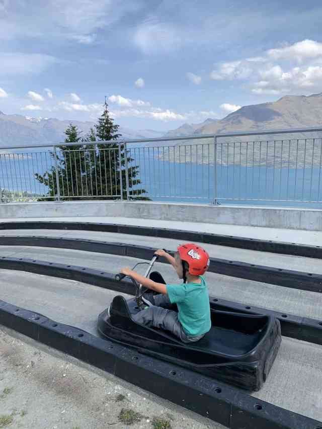 The luge in Queenstown