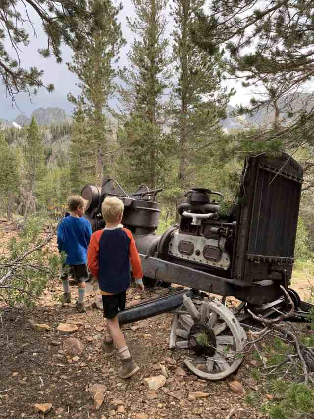 exploring the mammoth wilderness near cold water campground