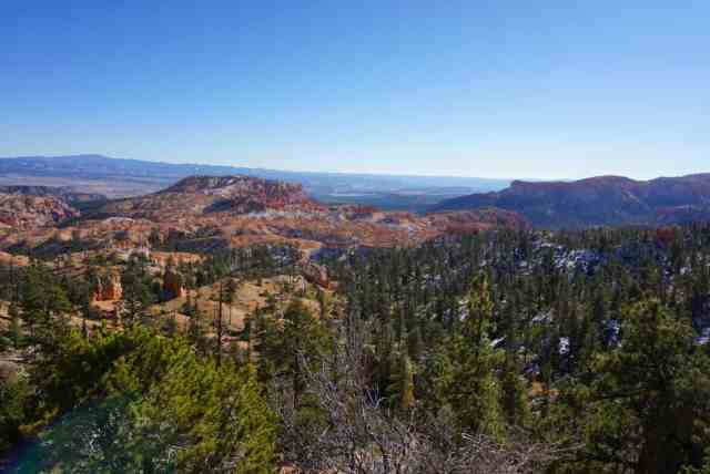 bryce canyon on southern utah road trip