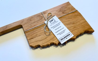 Oklahoma cutting board