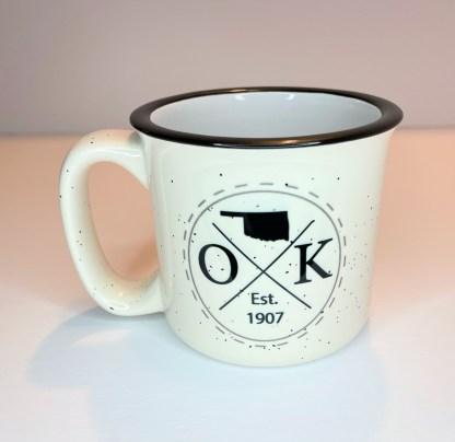Oklahoma est 1907 camp mug