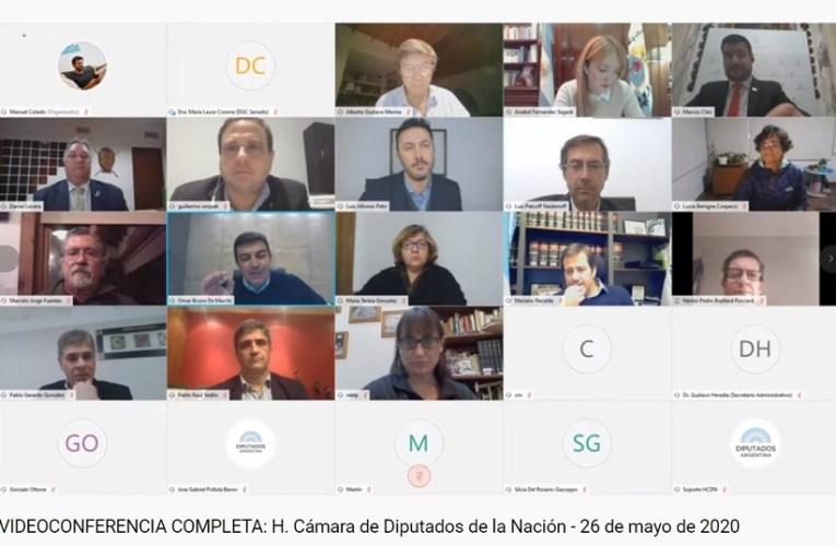 Bicameral y DNU: Cambiemos abandonó la sesión virtual