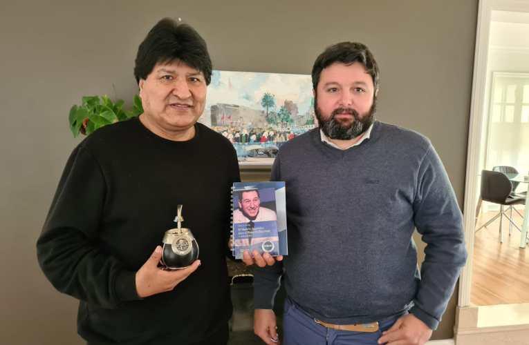 SiTraJu Ra se adhiere a la campaña de Evo Morales (MAS)