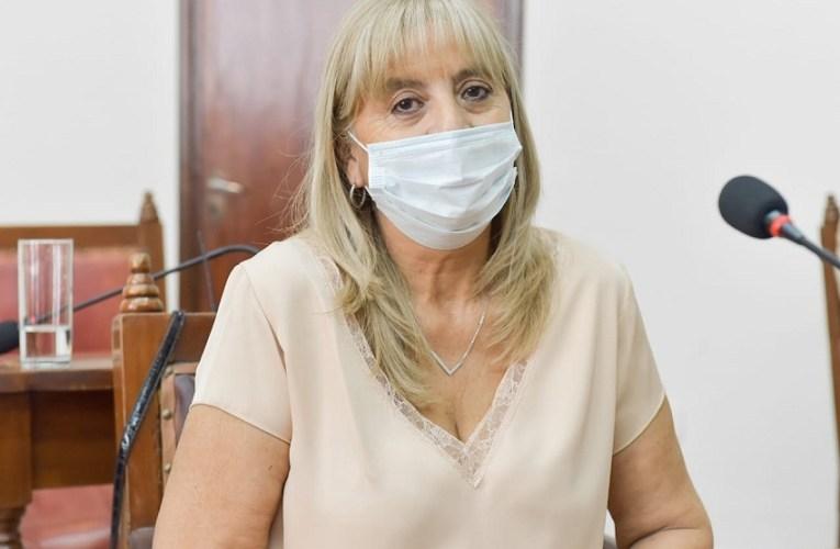 El Frente de Todos en Salta retuvo la Vicepresidencia 2da del Concejo Deliberante LAURA GARCÍA AGRADECIÓ LA RATIFICACIÓN EN EL CARGO QUE HICIERAN SUS PARES LEGISLATIVOS