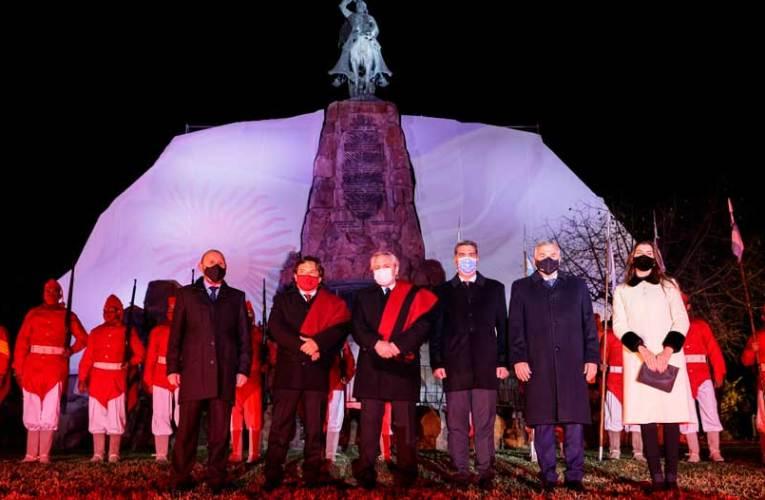 El Presidente participó del Toque de Silencio en honor al general Güemes Se conmemoro 200 años de su muerte