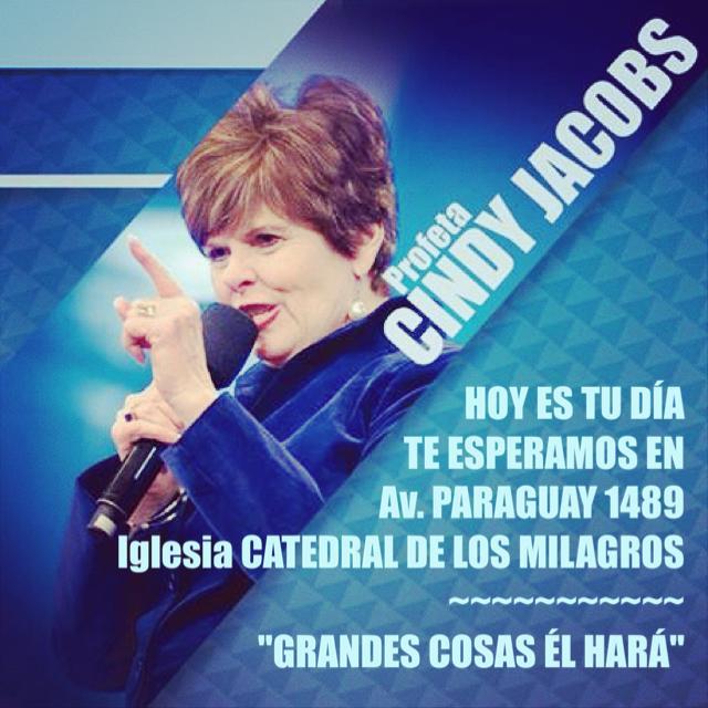 La profeta Cindy Jacobs en Salta