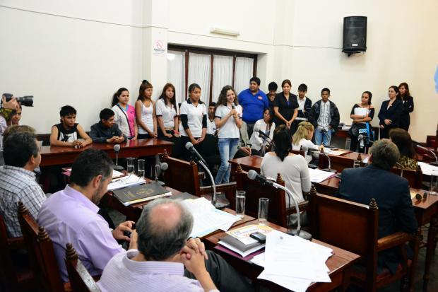 Mujeres, diversidad y medio ambiente:  agenda de los concejales estudiantiles