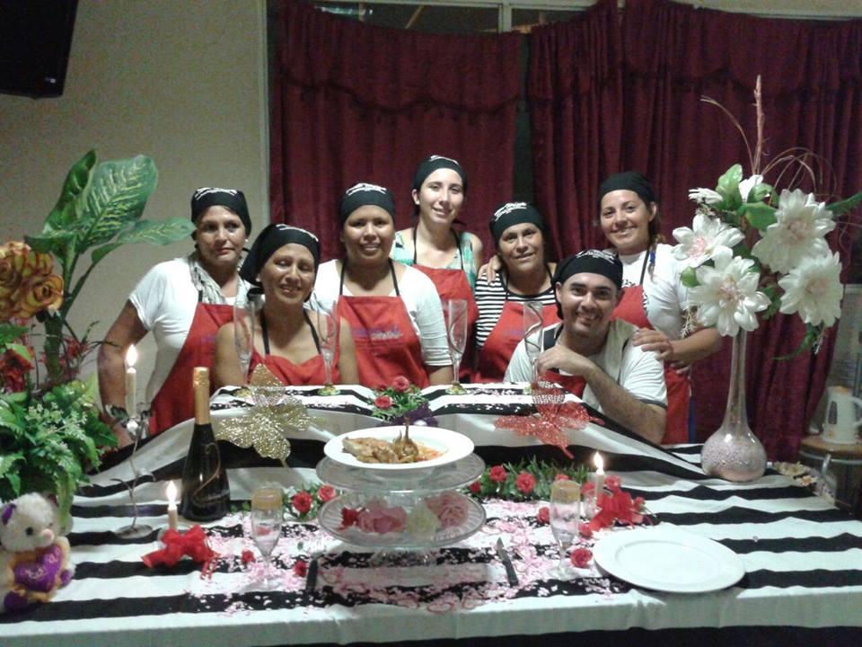 Alumnos de la Fundación Mabra finalizaron el curso de gastronomia