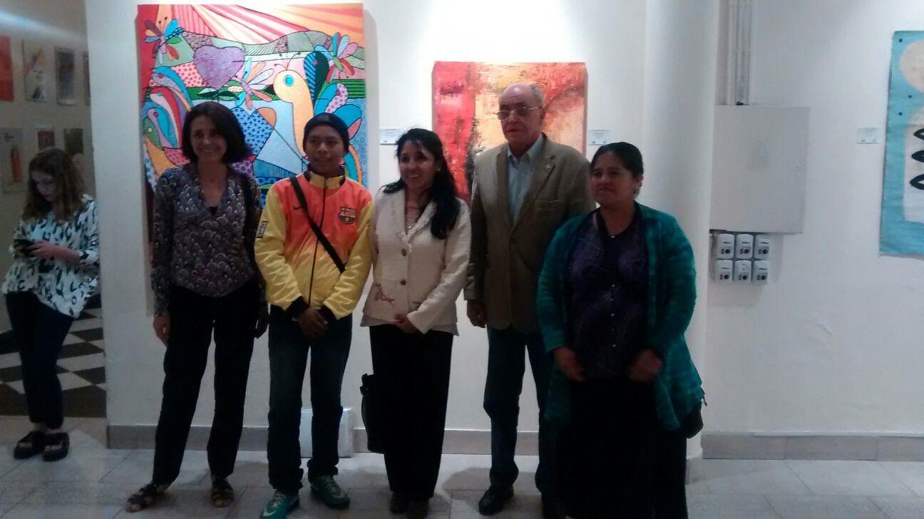 Artistas salteños vendieron sus obras a beneficio de la Fundación HOPe