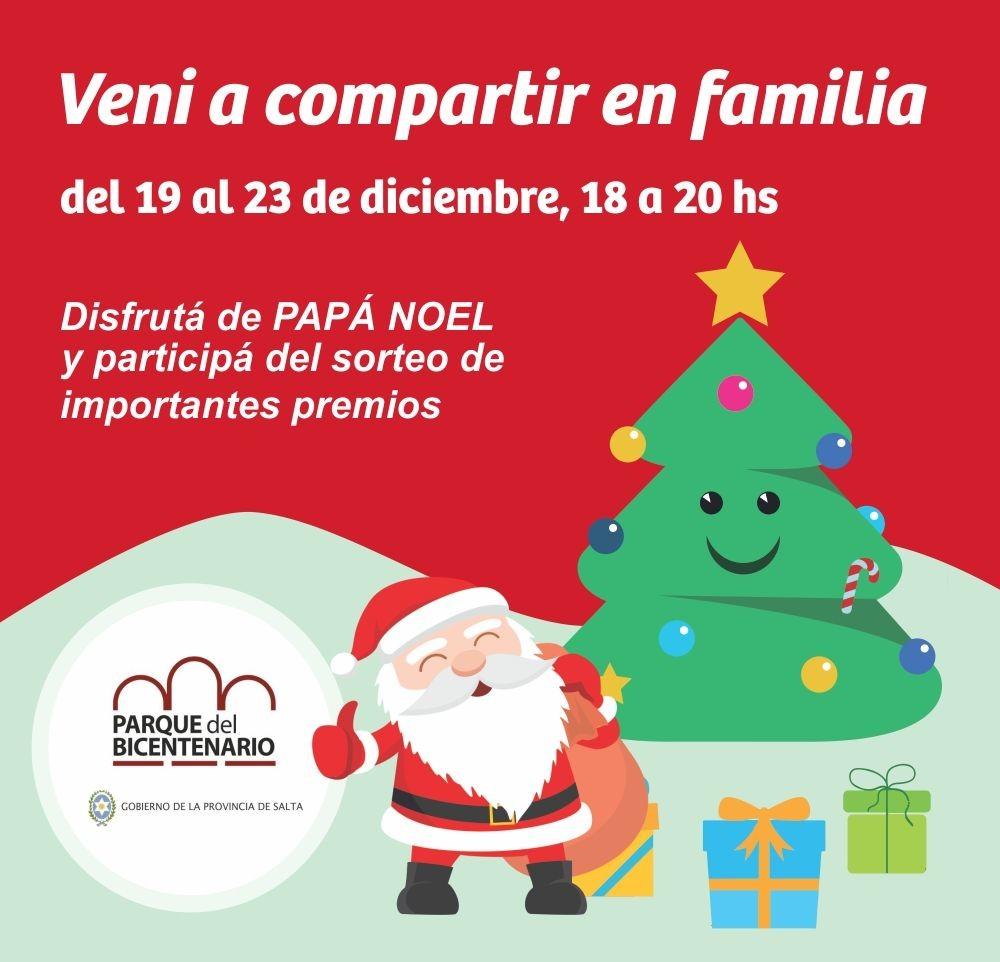 El Parque del Bicentenario prepara una Navidad y un Año Nuevo especial