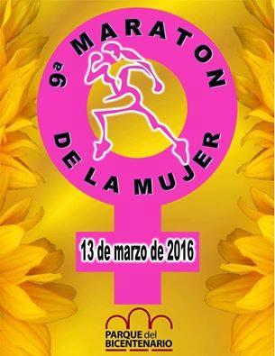 Maratón de la Mujer en el Parque del Bicentenario