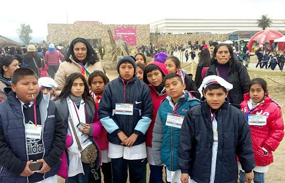 Una delegación de alumnos de Misión Tuyunti visitó Tecnópolis
