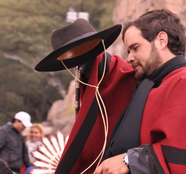 Orgullo Salteño: Boty Lecuona parte a caballo hacia Tucumán para el Bicentenario del 9 de julio