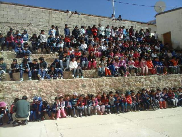 Campaña Solidaria para los niños de Jardin de Infantes de Nazareno