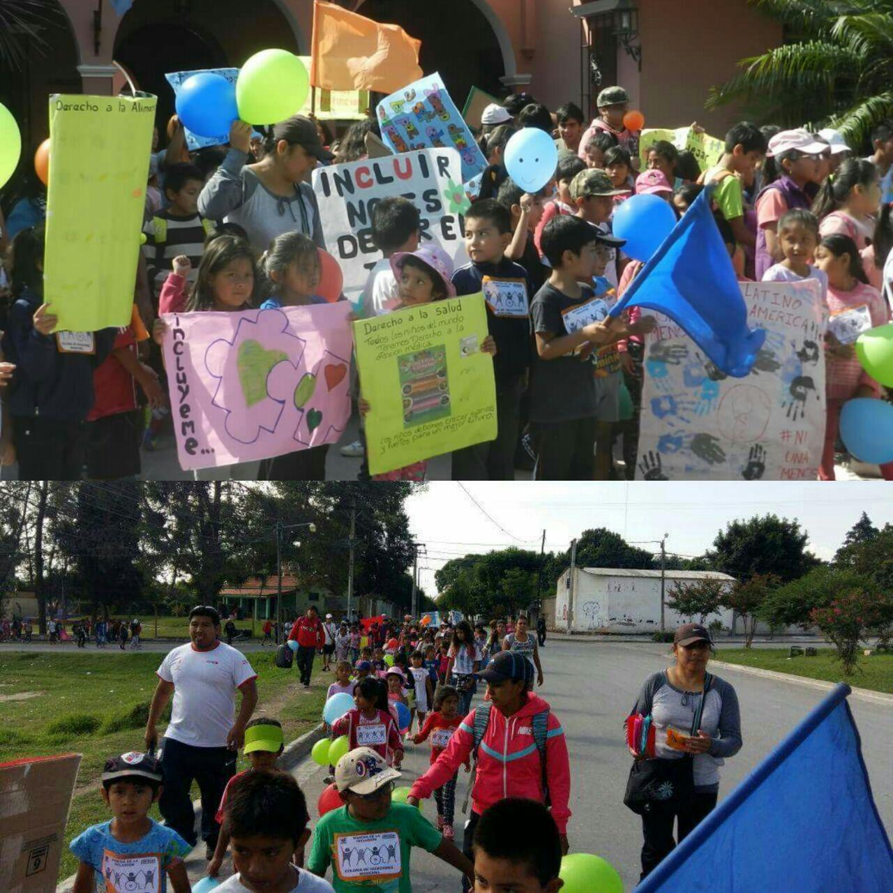 En Rosario de Lerma se desarrolló la caminata por la inclusión
