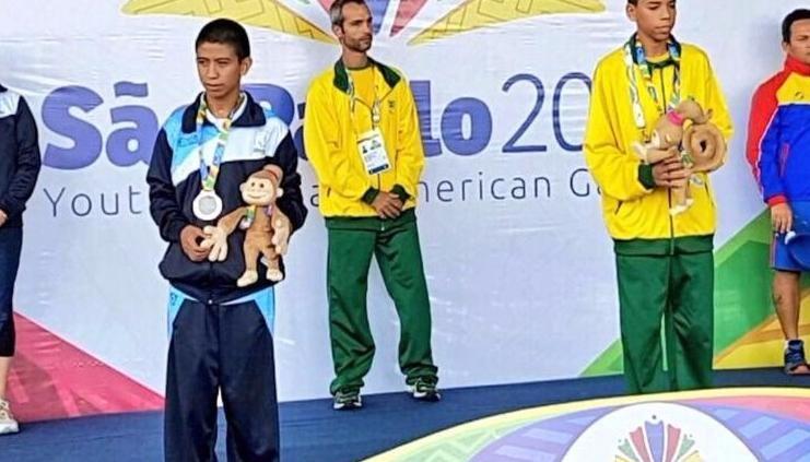 El salteño Enzo Silveira ganó la medalla de plata en los Parapanamericanos