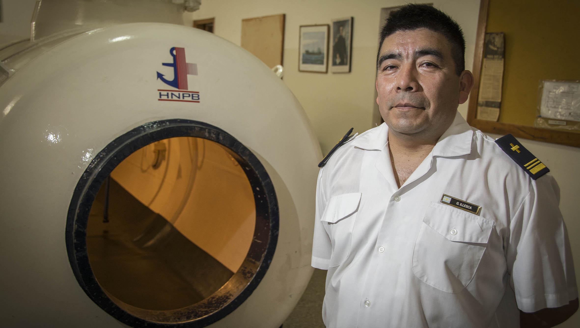 Un salteño oriundo de Orán con una vida de servicio desde el mar