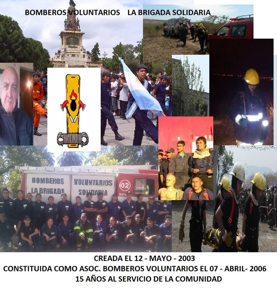 Los Bomberos Brigada Solidaria cumplen 15 años y aun sueñan con un terreno propio