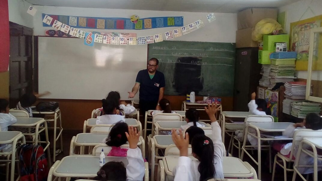 Cooperadora Asistencial de Salta contribuye al cuidado de la salud bucal en las escuelas