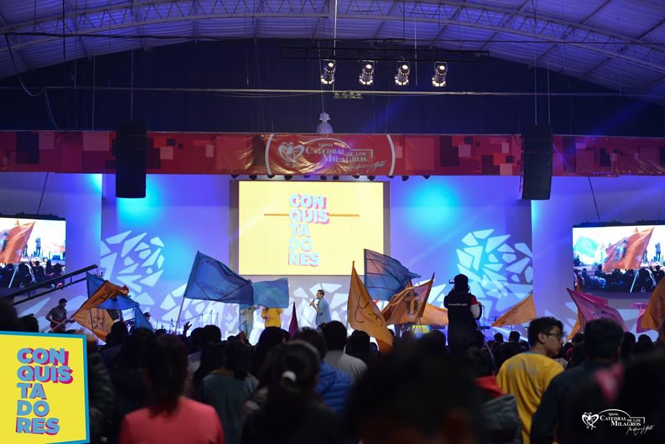 Más de 500 jóvenes de Salta vivieron el  Congreso de Jóvenes #Conquistadores