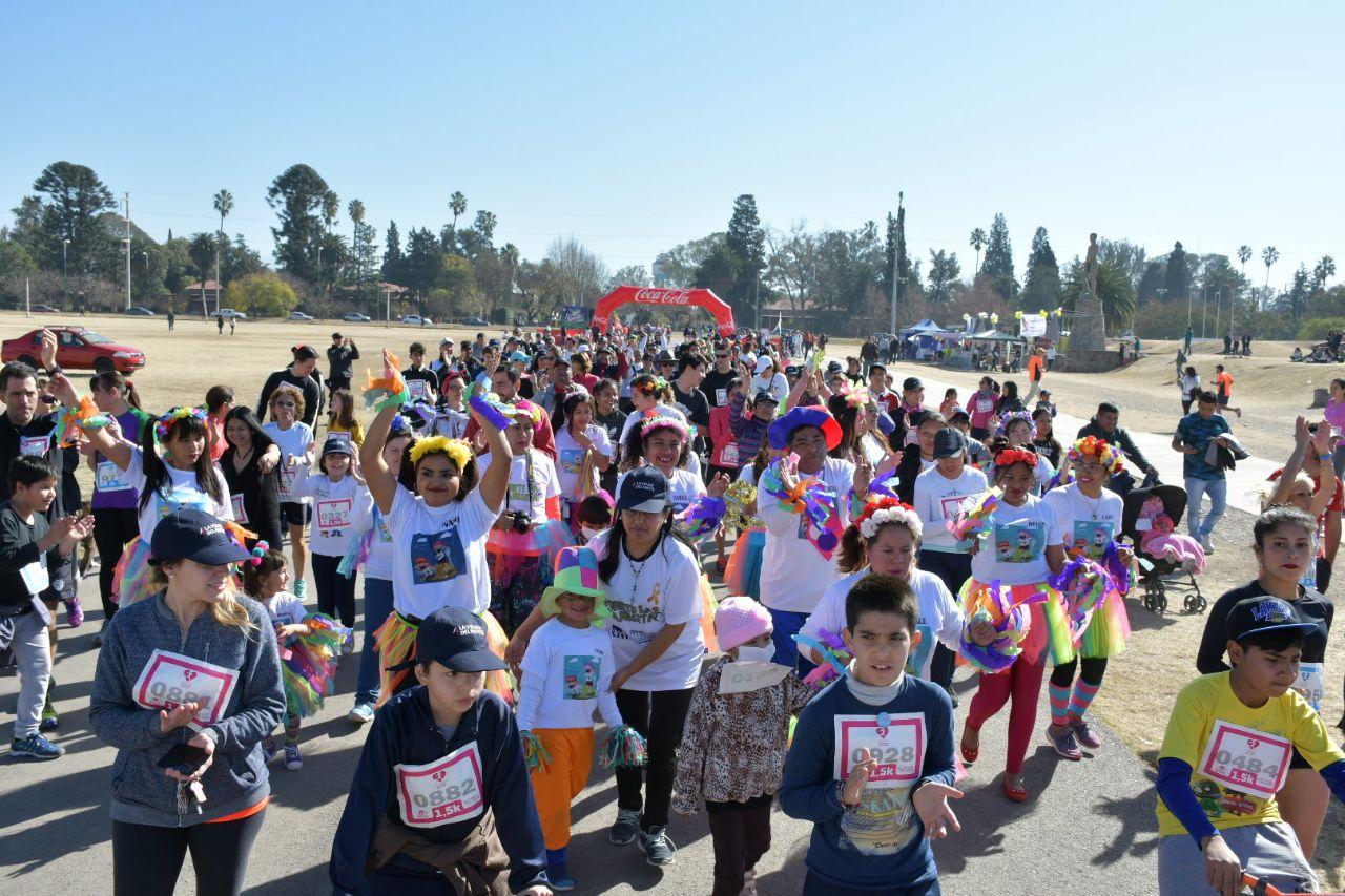 """Dos mil personas participaron de la maratón """"Por la Vida"""" de Fundación HOPe"""