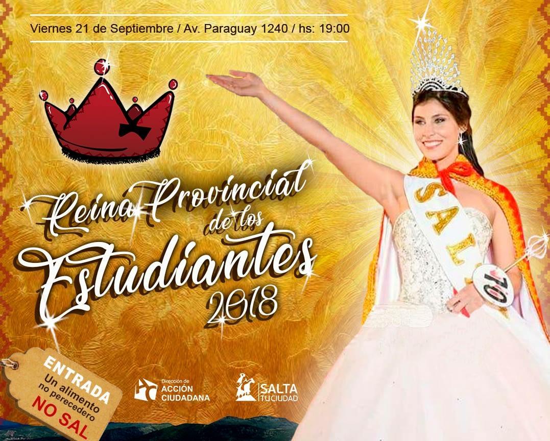 Hoy la capital salteña vive la Fiesta Provincial de los Estudiantes 2018