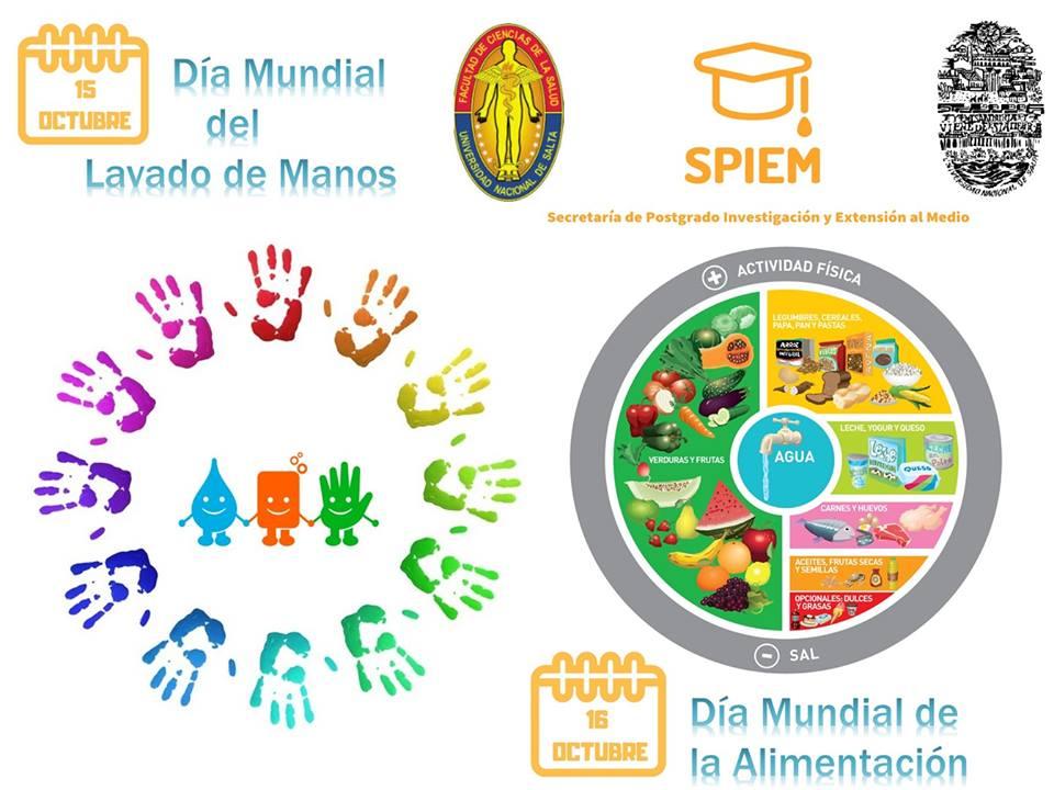 Por el Día Mundial de la Alimentación y el Día del Lavado de Manos la UNSa expondrá en Plaza Belgrano
