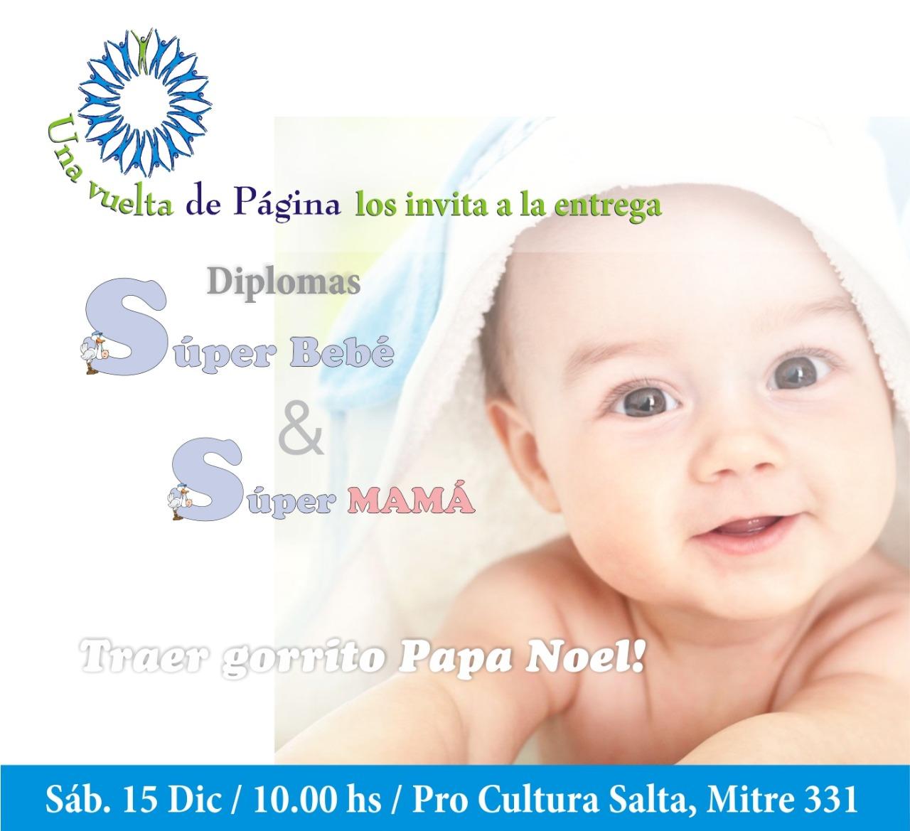 Distinguirán a los Súper Bebés y Súper Mamás de Salta