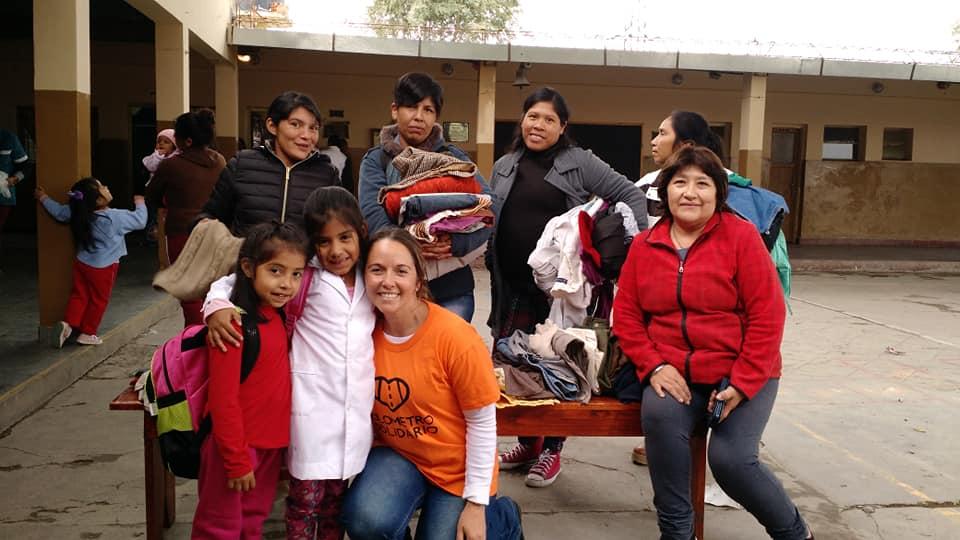 """El equipo del """"Kilometro Solidario"""" convoca a salteños para juntar ropa de abrigo"""