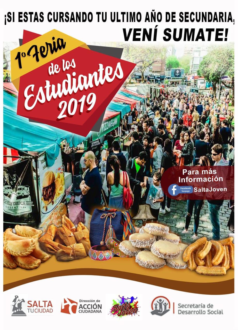 Realizarán la Primera Feria gastronómica y artesanal liderada por estudiantes
