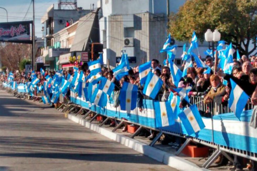 Metán será sede de los actos centrales por la Independencia Nacional