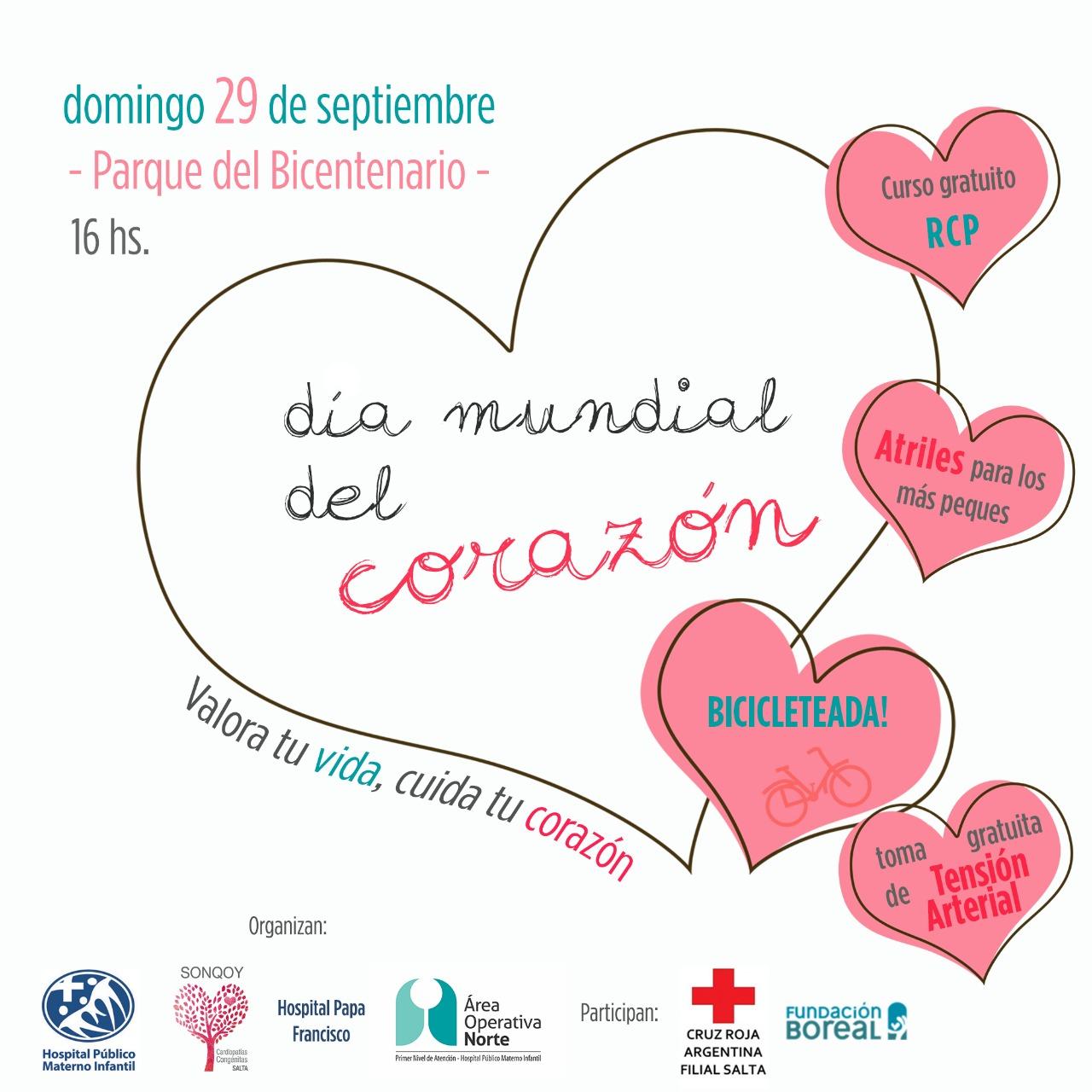Diferentes actividades para conmemorar el Día Mundial del Corazón