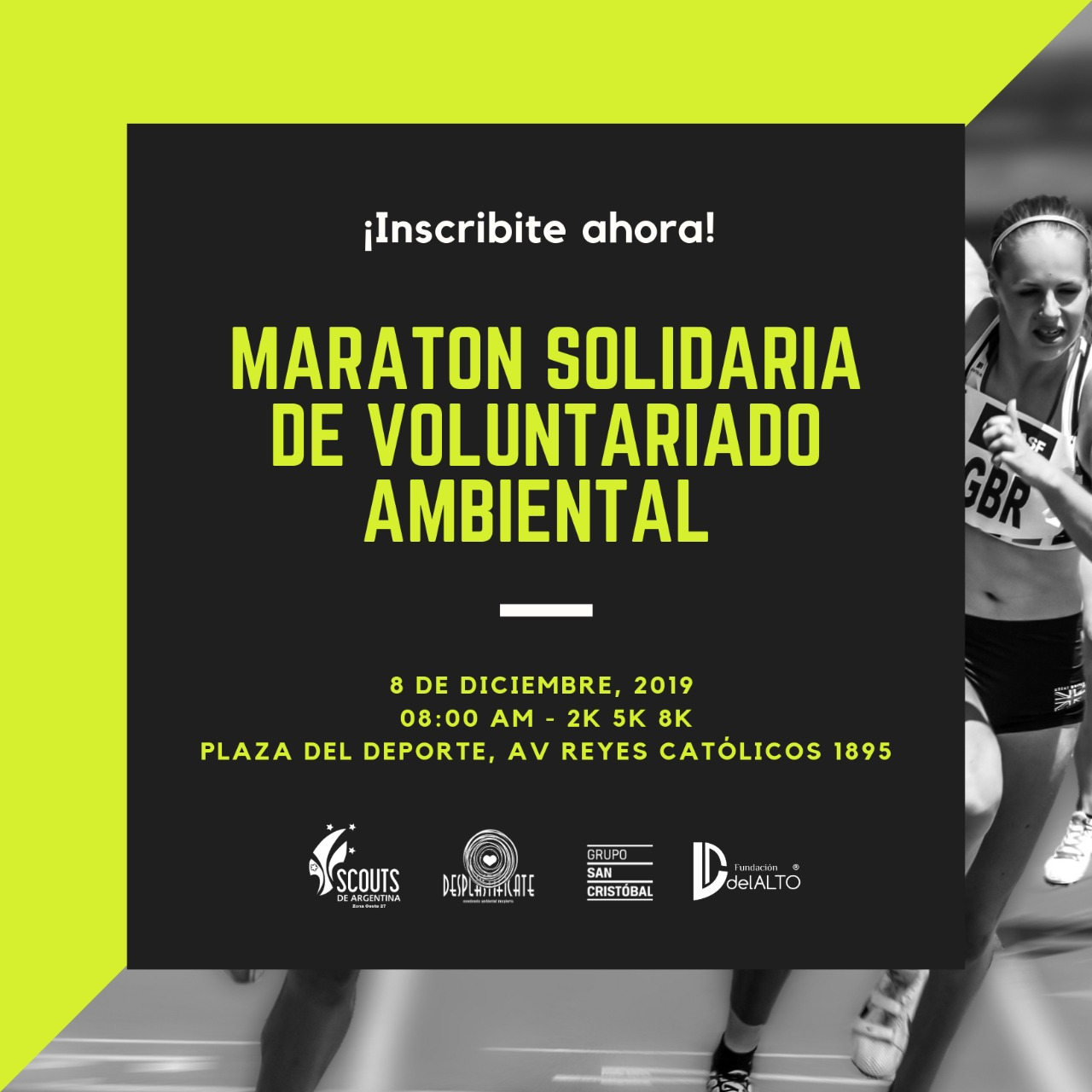 Se viene la 1° Maratón Solidaria del Voluntariado Ambiental